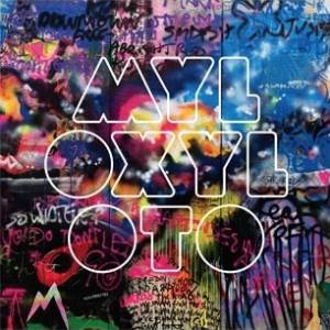 "Capa do novo álbum do Coldplay, ""Mylo Xyloto"""